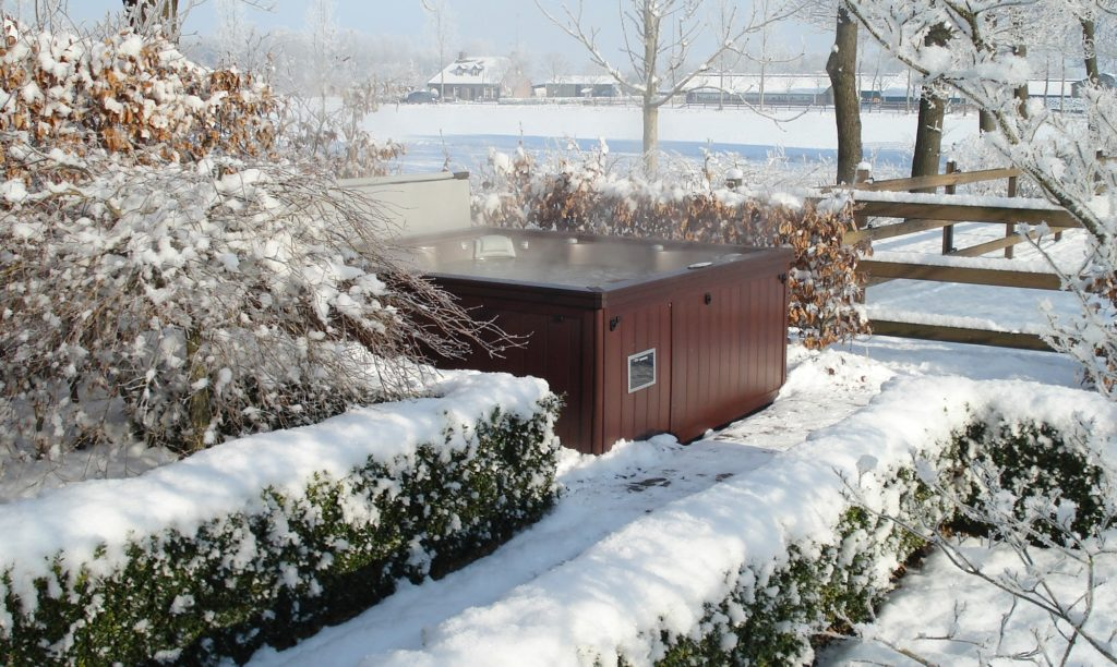Sundance Spa snow in Salisbury, MD