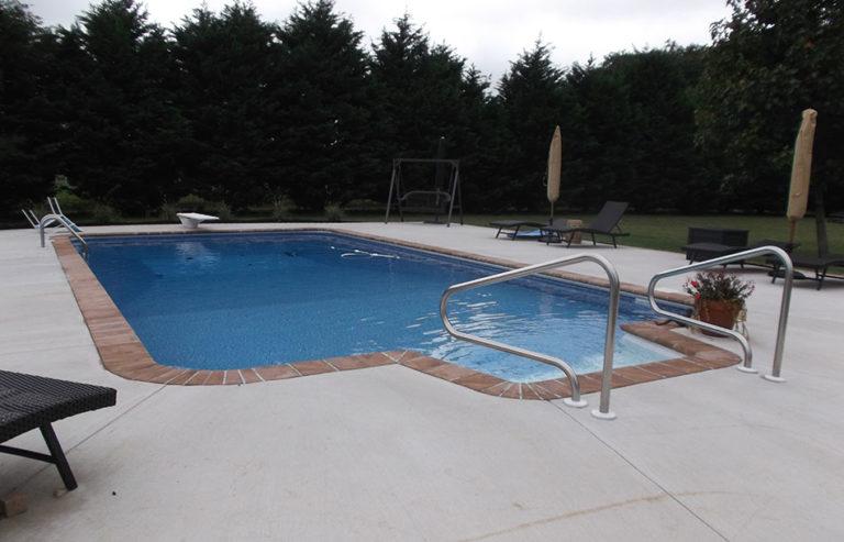 Custom Pool by Pool Tech in Salisbury